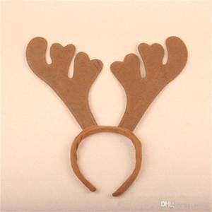 Frohe Weihnachten Geweih Nachgemachter Nerz Haarnadel Haarband Clip Schnalle Kopf Ornamente Party Supplies Bar Praktische Kleine Einfache Durchführung 2 5 mts cc