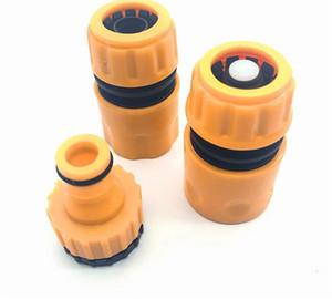 """Hot Patio Lawn 3Pcs Fast Adattatore Adattatore Tubo di irrigazione Tubo di irrigazione Connettore con 1/2 """"3/4"""" spinato Giardino Strumento di irrigazione con connettore"""