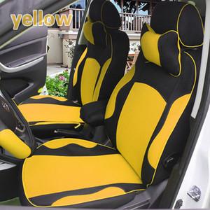 Yüksek kaliteli kalınlaşmak nefes beş araba için sandviç araba koltuğu kapakları arabalar (özelleştirilmiş)