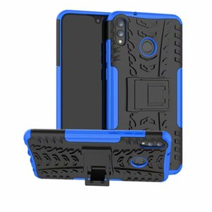 Pour Huawei Honor 8X Max Cas Beau Support Robuste Combo Hybride Armure Support Impact Étui Couverture Pour Huawei Honor 8X Max