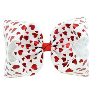 Лучшие продажи! 8''Cartoon ребёнки JOJO Unicorn Звездное небо Barrettes Цвет Bubble Star Шпилька Love Heart Bowknot зажим для волос Детские головные уборы H17