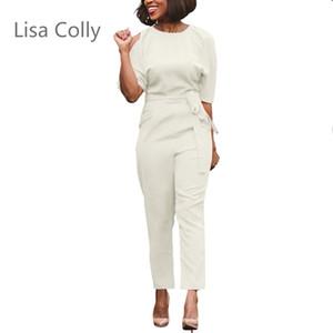 Lisa Colly Art und Weise Chiffon hohe Taille Bleistifthosen Frauen-Sommer-Art beiläufige Hosen Frauen lange Hosen