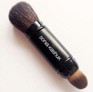 Brand SK sonia kashuk Pennelli trucco professionale per capelli di capra con pennelli per make-up contorno viso in polvere nera