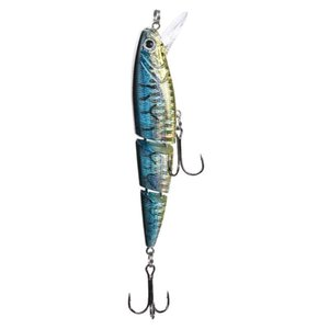 Fishing Lure 10cm 16g 3 Segment Hard Laser Minnow Lure Crankbait Wobbler Artificial Bait with 2 Hook Fishing Baits Pesca