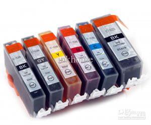 6 x INK PGI-525 BK PGI525BK PGI-525BK CLI-526 CANON PIXMA MG6100 MG6150 MG6250 YAZıCı