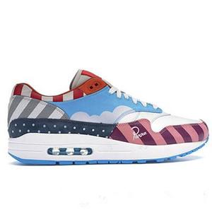 Air 1 Friend Family Zoom Spiridon White Multi Rainbow Sean حذاء رياضي جديد Train Piet Parra مصمم أحذية رجالي للسيدات