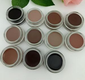 Trucco del sopracciglio Enhancers pomata 11 Colori con Package impermeabile sopracciglia crema duratura sopracciglia pomata naturale