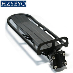 HZYEYO Bicycle Luggage Carrier Cargo Rear Rack Shelf Cycling Seatpost Bag Holder Stand for 20-29 inch bikes with Install Tools