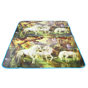 Multifunction Camping Beach Hiking Mountaineering PE Colourful Printing Picnic Mat Made of PE material, environmental, nontoxic and durable