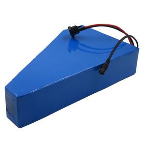 Nenhum imposto de alta potência 52 V 20AH bateria de lítio 14s 52V triângulo bateria para Eike 1000W Motor com BMS + carregador