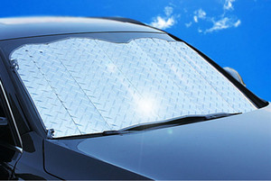 HOT NEW Applied Foldable Car Windshield Visor Cover Block Front Rear Window Sunshade Protect Car Window Film Sunscreen