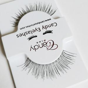 218 natürliche Stile Wimpern Mode weich Falsch Gefälschtes Menschenhaar Wimpern Klebstoffe Glamour nude look Wimpern Make-up Beauty