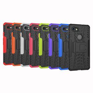 Coque de protection pour HTC Desire 555 530 550 Google Pixel 2 Samsung Galaxy Core Prime LTE G360 S820L Hybrid Daul Layer