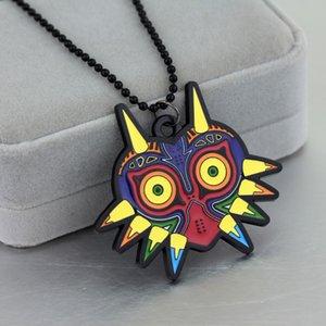 Новая игра о моде Легенда о Zelda Owl Ожерелье Шикарный Красочный Эмаль Сова Ожерелье для любителей игры Подарок Влюбленные подарки