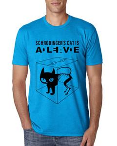 The Big Bang Theory T-shirt de Schrodinger Cat Hommes Casual 100% coton à manches courtes T-shirts 2018 New Fashion Summer Style t-shirt