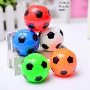 Venda quente de futebol ponta do dedo dedo giroscópio descompressão desabafar brinquedos 2018 Russo World Cup brindes promocionais