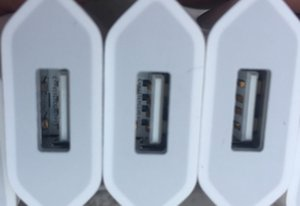 OEM original A +++ Calidad 5V 1A 5W EE. UU. / UE Adaptador de enchufe USB Cargador de corriente AC Adaptador de pared A1385 A1400 Con caja de venta al por menor