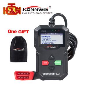OBD2 Diagnostic Car Scanner Universal ODB 2 Codice Reader KONNWEI KW590 Autoscanner OBD Strumento diagnostico migliore di AD310 ELM 327