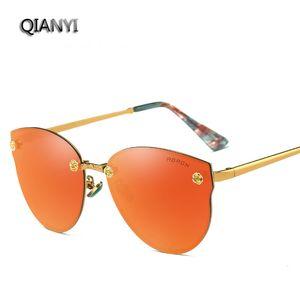 Высокое качество поляризованные солнцезащитные очки Очки продажа персонализированные цветная пленка кадр ремонт солнцезащитные очки для лица мужчины и женщины прилив очки