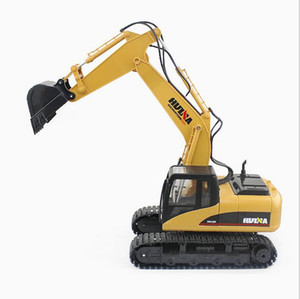 New Design Huina Toys 15 Channel 2 .4g 1  12 Rc Excavator Charging 1 :12 Rc Car With Battery Rtg