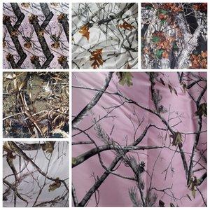 Ucuz Satılık Kamuflaj Saten Kumaşlar DIY Gelinlik Kamuflaj Gerçek Ağacı yağışı Kumaşlar Toptan Saten Kumaş