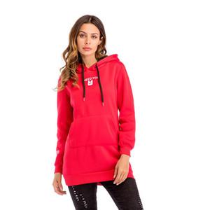 DICLOUD Femmes Hiver Automne Hoodies Col Écharpe À Manches Longues Mode Casual Sweatshirts Rough Pulls