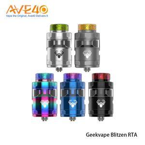 Geekvape Blitzen RTA 24mm 5ml 용량 Atomizer fit Geekvape 이지스 박스 모드 100 % 오리지널