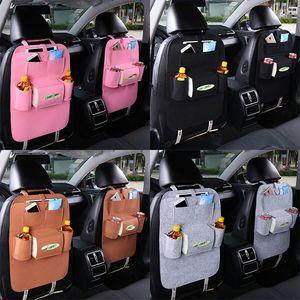 Sac de rangement auto pour siège auto Multi-Pocket Travel Hanging Bags Hanger Backseat Boîte de rangement multifonction 7 couleurs C4052