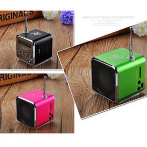 Mini-Lautsprecher tragbare Digital-LCD-Stereo-Super-Bass-Lautsprecher Musik MP3 MP4 FM-Radio-Empfänger für Laptop-Telefon