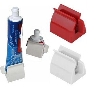 Rolling Tube pasta de dientes Squeezer Pasta de dientes Easy Dispenser Seat Holder Stand Accesorios de baño High Quality Tool 1PC