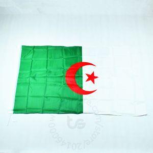 Festival dünya kupası Ev Dekorasyon Cezayir Bayrak için Cezayir Banner ulusal bayrak Ücretsiz nakliye 3x5 FT 90 * 150cm Milli bayrağı