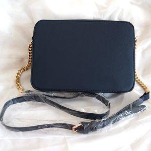 TAMANHO 23 cm * 5 cm * 16 cm moda feminina famosa MYK bolsa de couro cruz padrão quadrado sacos de um ombro messenger bag crossbody cadeia bolsa