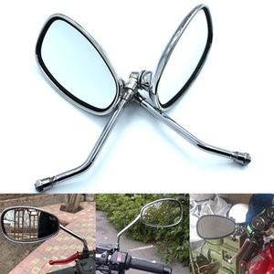 Para Motocicleta Espelho Retrovisor Para Suzuki Bandit 250/400 74A / 75A / 77A / 79A / 7BA InZuma 400 espelhos retrovisores / Espelhos laterais