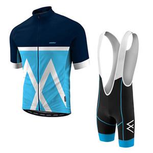 Morvelo 2019 equipo profesional masculino de verano de manga corta transpirable jersey babero pantalones cortos Conjunto de bicicleta bicicleta ropa 52903