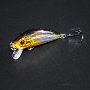 1 Unids Topwater Pesca Señuelo 5 cm 3.5g Artificial Cebo Duro Wobbler Spinner Japón Mini Crankbait pesca de la carpa YE-204