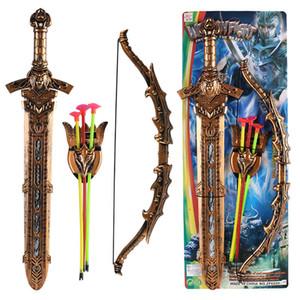 Livraison gratuite enfants jouets en plastique épée épée guerrier de style européen Sword Performance Heavenly King épée bras modèle jouet