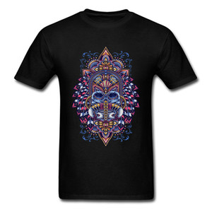 Calavera Chief Prince Symbol T Shirt For Adult Mens Summer Shirts Round Collar Casual Tee Shirt Custom Hipster Art Tshirt