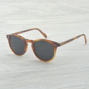 OV5256 SUNGLASSES Vintage tasarımcı marka erkek oliver ov5256 Sir O 'malley polarize güneş gözlüğü Retro Erkek Sürüş Açık Kadınlar Güneş