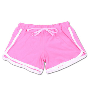 7 Colors Cotton Yoga Sports Shorts Gym Leisure Homewear Fitness Pants Drawstring Summer Shorts Beach Running Exercise Pants