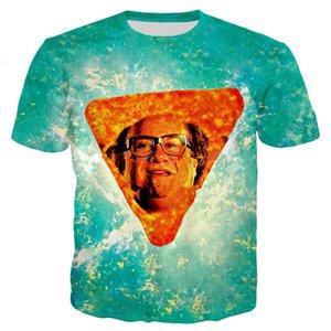 Новые моды Женщины Мужчины футболку Дэнни ДеВито В Nacho Cheese Flavor 3D Печать Повседневный Прохладный Футболка U790