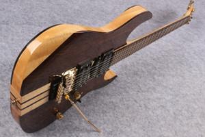 최고 품질의 중국어 사용자 정의 6 현악기 Floyed 로즈, 골드 하드웨어 무료 일렉트릭 기타와 일렉트릭 기타를 통해