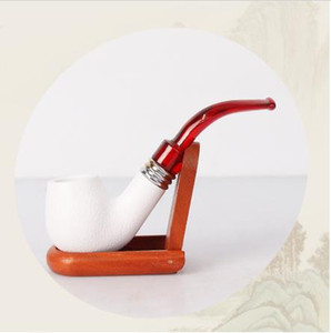 The anti 9mm active carbon filter meerschaum pipe pipe smoking free curved handle wholesale