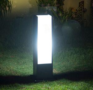 улица 5W Открытый свет Сад Газон лампа Современный Courtyard Villa парковый свет водонепроницаемый полюс Lawn светильники LLFA