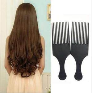Afro Peigne Cheveux Bouclés Brosse Salon De Coiffure Coiffure Longue Dent Styling Pick F1102