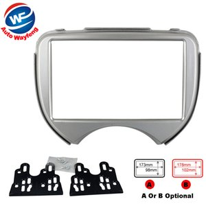 Double Din Facia For NISSAN Car Micra March RENAULT Pulse Radio CD DVD Stereo Panel Dash Install Trim Fascia Kit Face Surround Frame