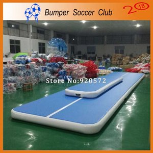 Free Shipping Newest 9x2x0.2m Inflatable Gym Mat Home Air Floor Inflatable Tumbling Mat For Gymnastics Inflatable Air Track