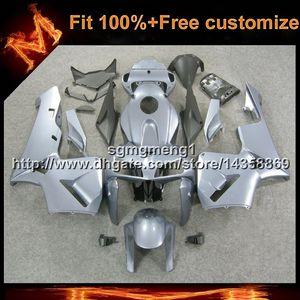23 renkler + 8 Gifts Enjeksiyon kalıp gümüş motosiklet HONDA birçok boya düzeni için gövde gövde CBR600RR 2005-2006 CBR 600 RR 05 06 ABS Fairing