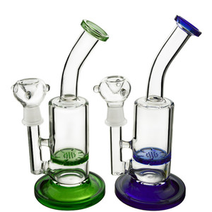 Cyclone Glass Bong Tornado Dab Rig Perc Glass Water Pipe Turbine Disc Percolator Water Bong Bent Neck Glass Rig WP320