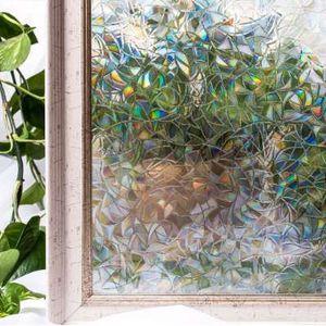 CottonColors крышка окна пленки Главная декоративные без клея 3D статические декоративные оконные стекла наклейки 60 х 200 см
