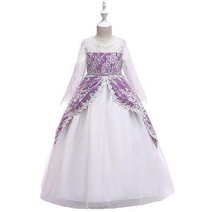 2019 New Baby Girl Unicorn Dress ChiffonTutu Dress Princeas Cute kids Party Flower Dress Wedding Pageant Bridesmaid Pettiskirt